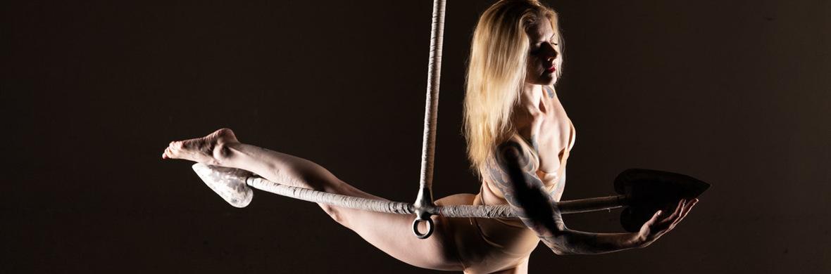 Mermaid Aerial Anchor - Circus Acts - CircusTalk