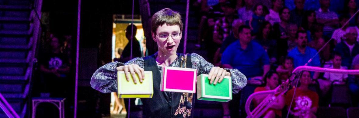 Cigar Boxes   Owen Leonard - Circus Acts - CircusTalk