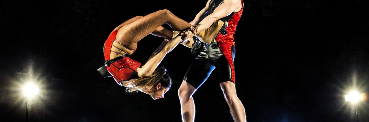 Duo roller skaters (Skaters symphony) - Circus Acts - CircusTalk