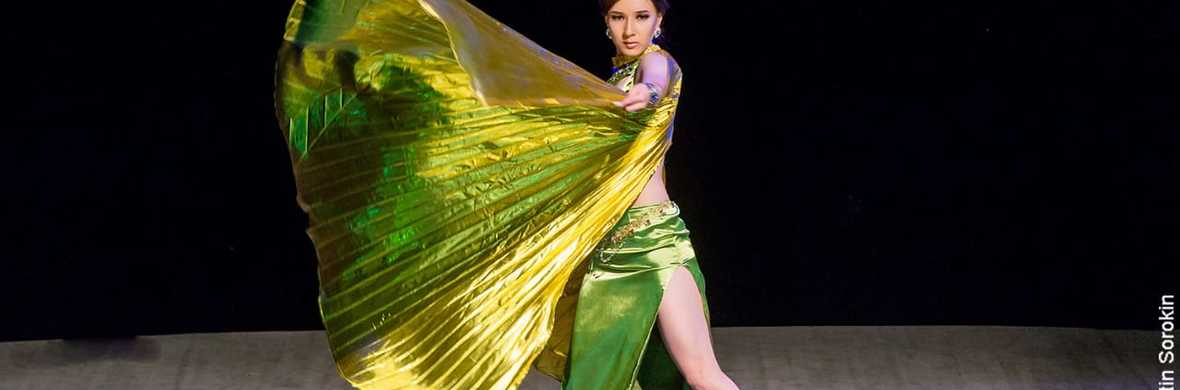 Tribal Fusion bellydance with Wings - Circus Acts - CircusTalk