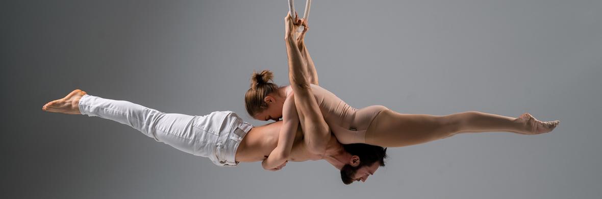 Duo aerial hoop act - Circus Acts - CircusTalk