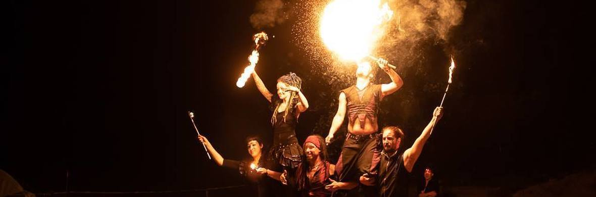 Fire and LED Show - Circus Shows - CircusTalk