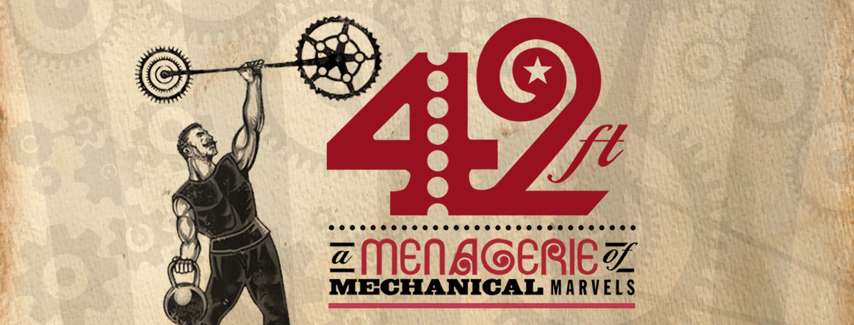 42ft- A Menagerie of Mechanical Marvels - Circus Events - CircusTalk