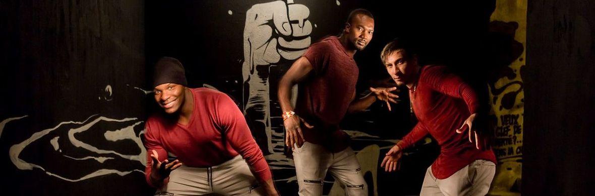trio of banquine  - Circus Acts - CircusTalk
