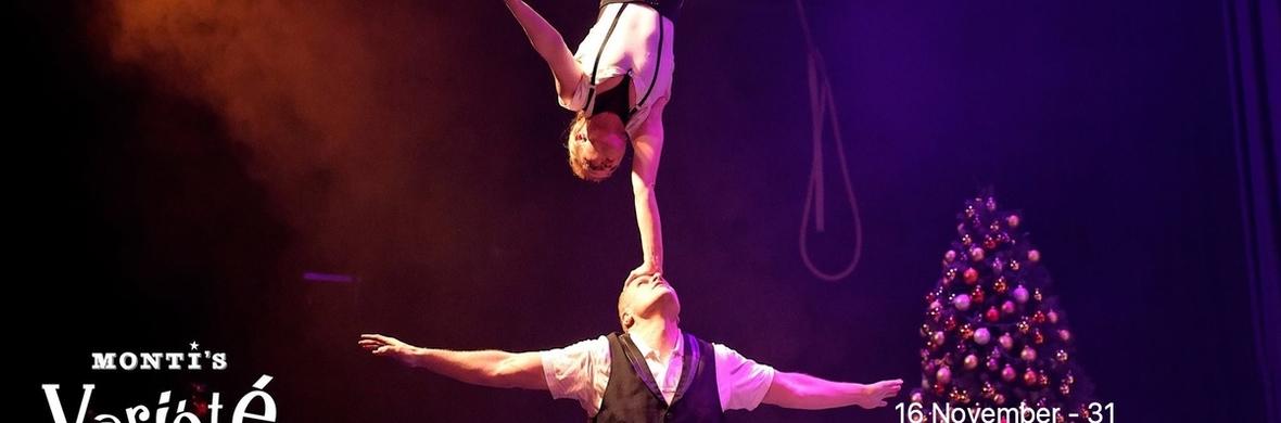 Hand to hand acrobatic act - Circus Acts - CircusTalk