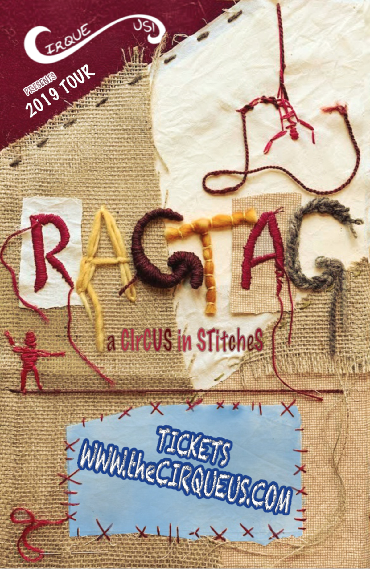RagTag: a CirCus in StitCheS - Circus Events - CircusTalk