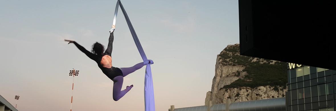 Harley Drops Aerial Silks/Hoop - Circus Acts - CircusTalk
