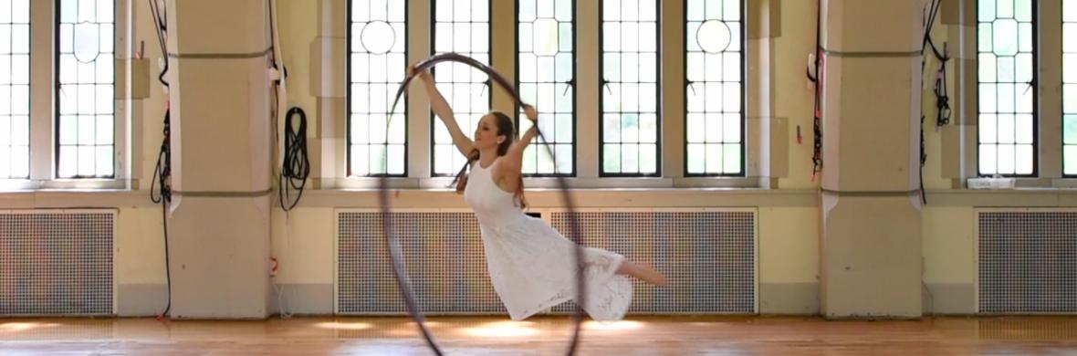 Marry Me Wedding act, cyr wheel - Circus Acts - CircusTalk