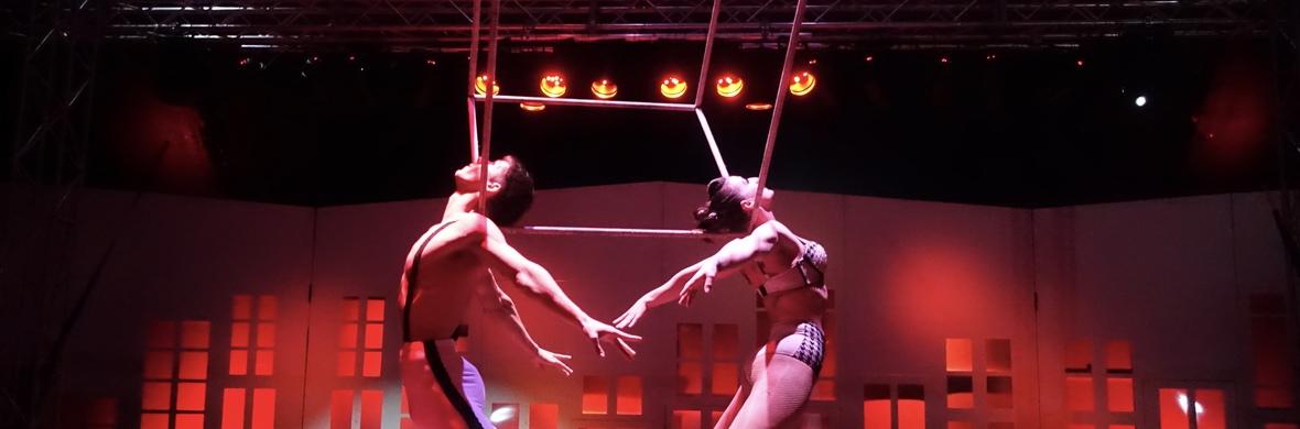 Duo Aerial Cube - Circus Acts - CircusTalk