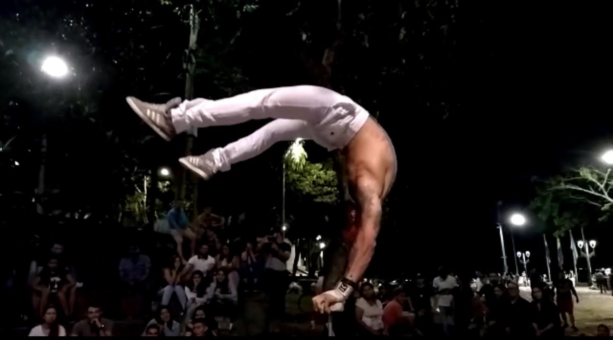 handstand hip hop dances