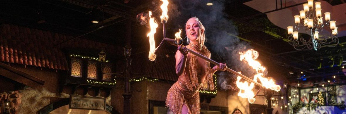 Fire Dragon Staff - Circus Acts - CircusTalk