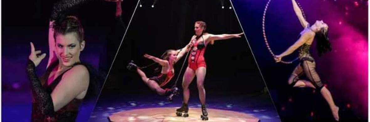 Aerial hoop and roller skating and tight wire - Circus Acts - CircusTalk
