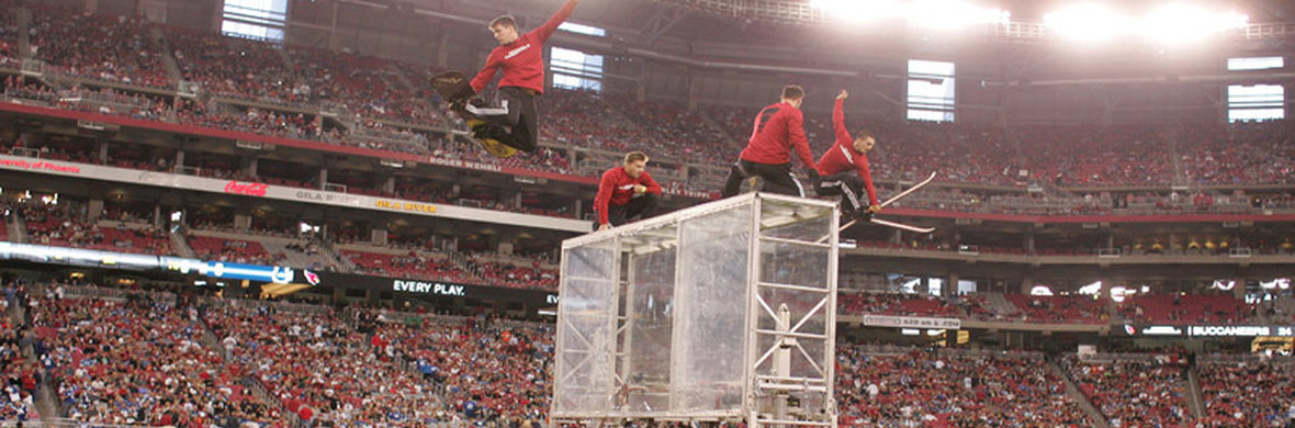 Flippenout Extreme Trampoline - Circus Acts - CircusTalk