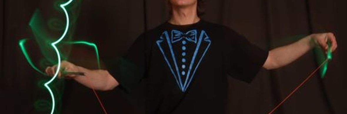 Magic of juggling ( UV- black light show ) - Circus Acts - CircusTalk