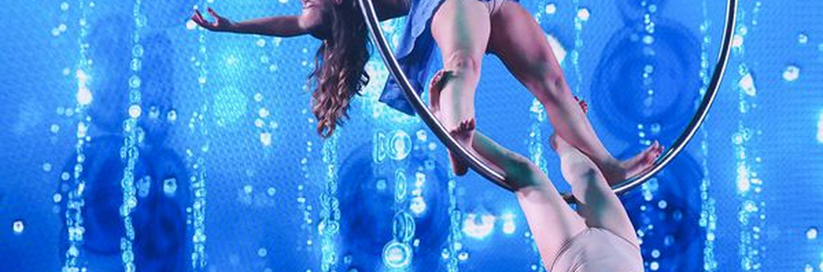 Magical Aerial hoop and straps  - Circus Acts - CircusTalk