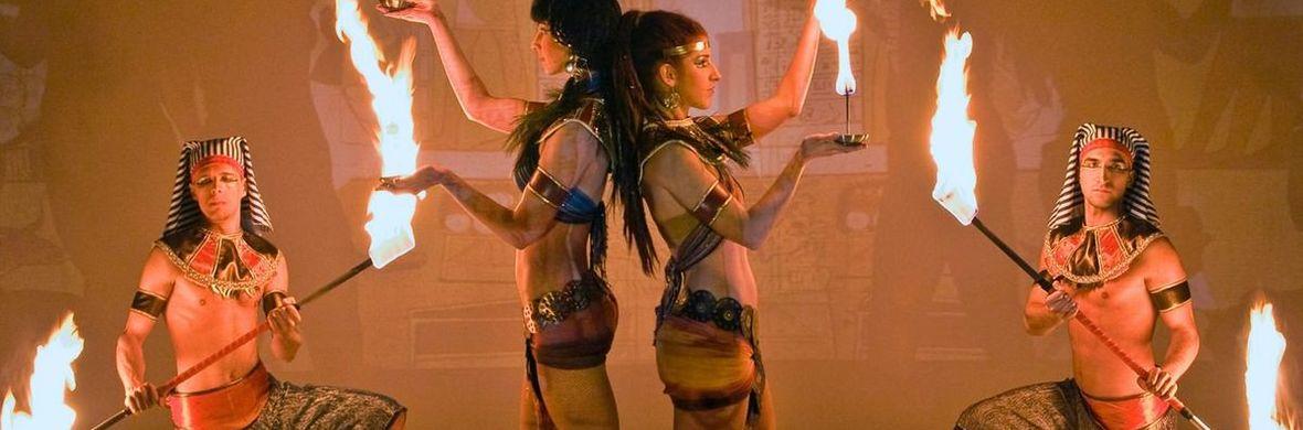 Magic of Egypt firedance show - Circus Shows - CircusTalk
