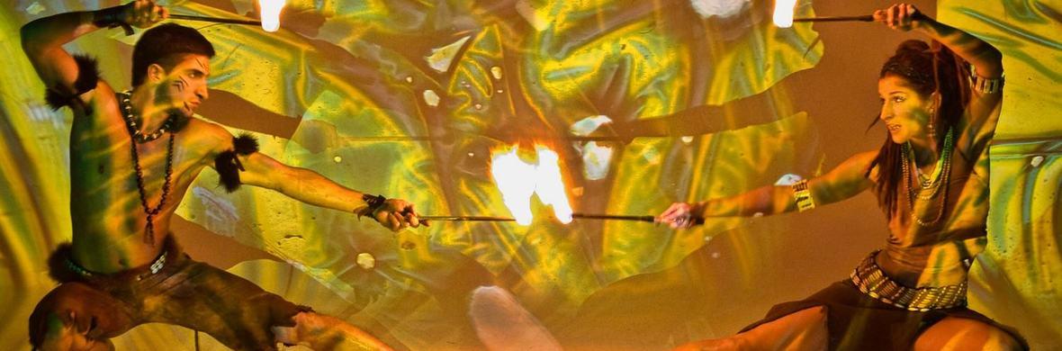 Jungle magic firedance show - Circus Shows - CircusTalk