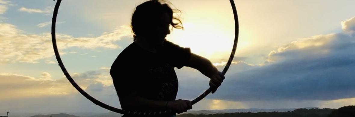 Hoop on sunset  - Circus Acts - CircusTalk