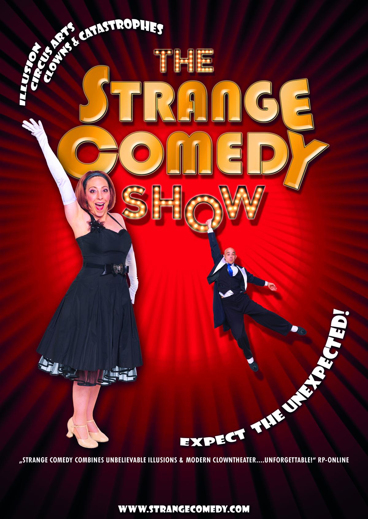 Strange Comedy The show - Circus Events - CircusTalk