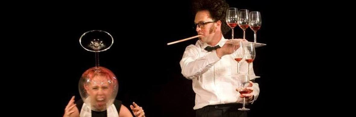 Comedy wine glass balancing - Circus Acts - CircusTalk