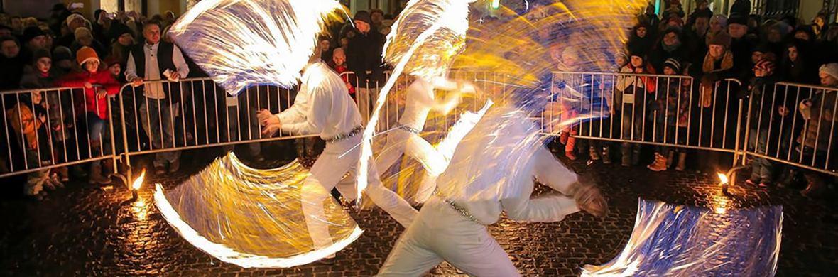 Festive firedance show - Circus Shows - CircusTalk