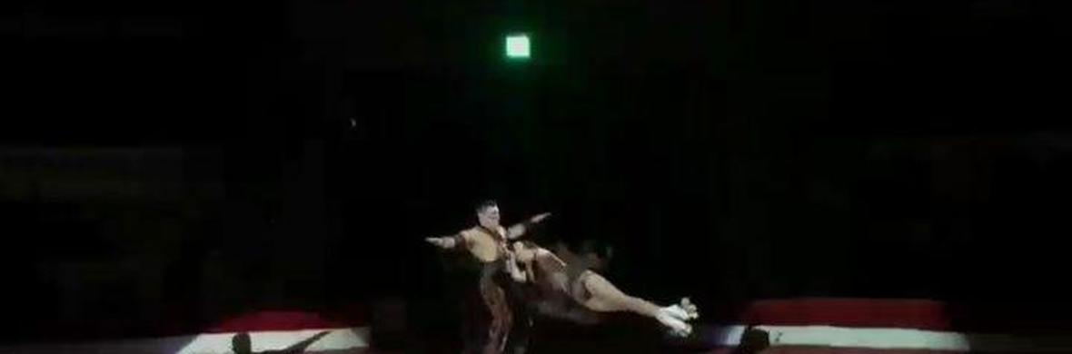 Acrobats on Roller Skates. Roller Skating - Circus Acts - CircusTalk