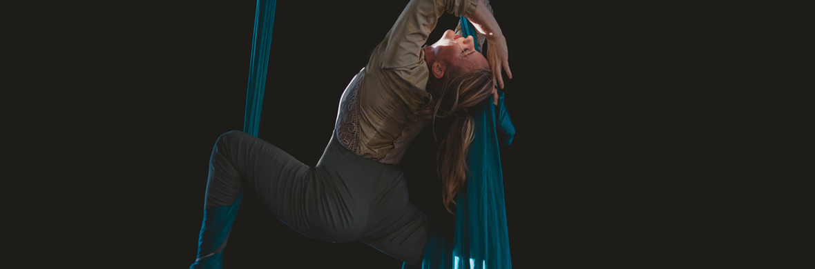 Erin Drumheller - aerial silks - Circus Acts - CircusTalk
