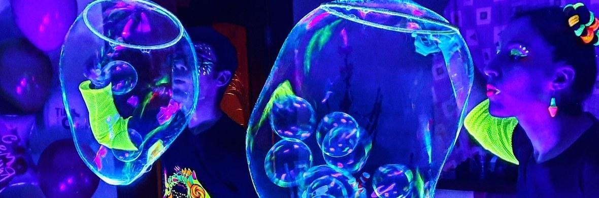 Neon bubble act - Circus Acts - CircusTalk