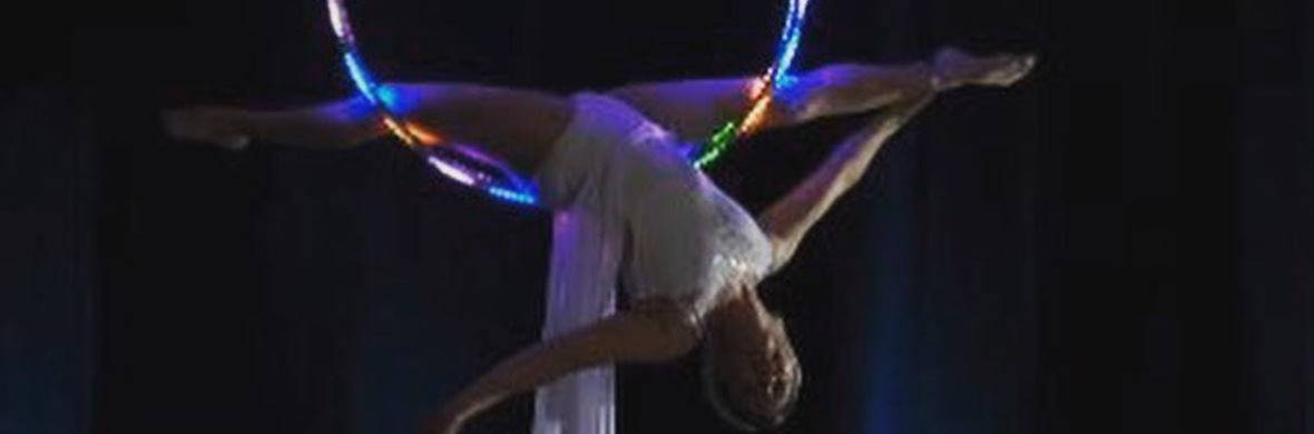 LED AERIAL RING - Circus Acts - CircusTalk