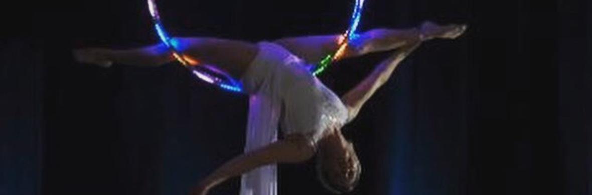 LED AERIAL RING - Circus Acts - CircusTalk