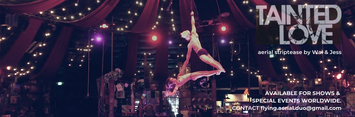 TAINTED LOVE: aerial striptease - Circus Acts - CircusTalk