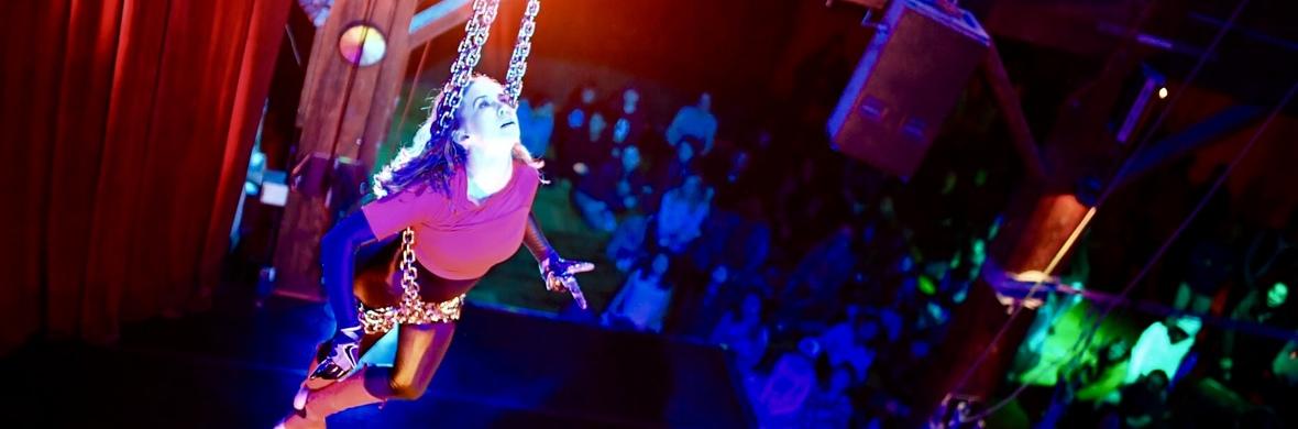 Flamenco Aerial Chains - Circus Acts - CircusTalk