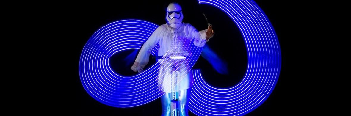 Star Wars LED & firedance show - Circus Shows - CircusTalk