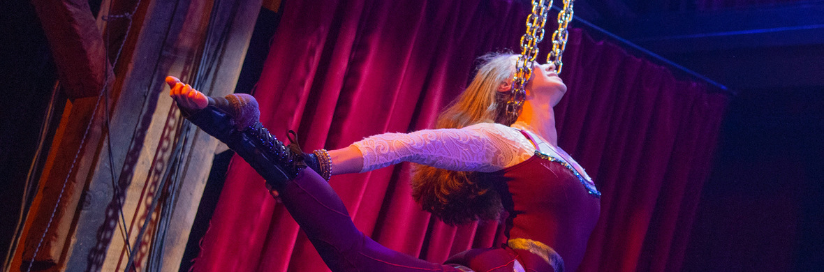 Kill Bill - the Bride - Aerial Chains Act - Circus Acts - CircusTalk