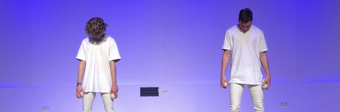Visualize: Modern Circus Act wit Jan Daumin - Circus Acts - CircusTalk