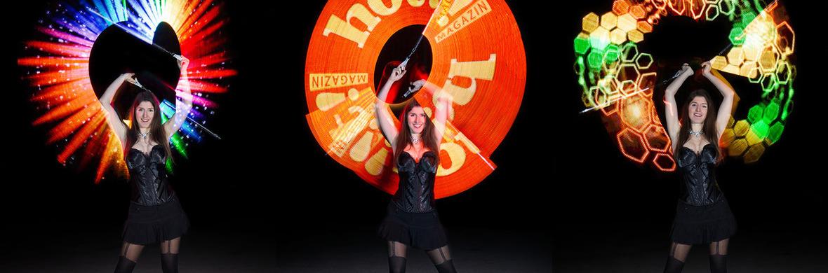 LED light juggling show - Circus Shows - CircusTalk