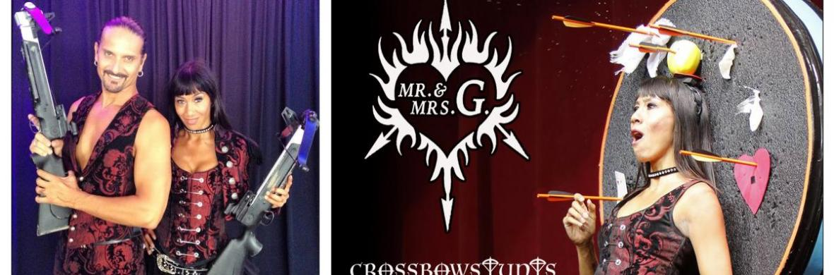 MR. & MRS. G. Crossbow Stunts - Circus Acts - CircusTalk
