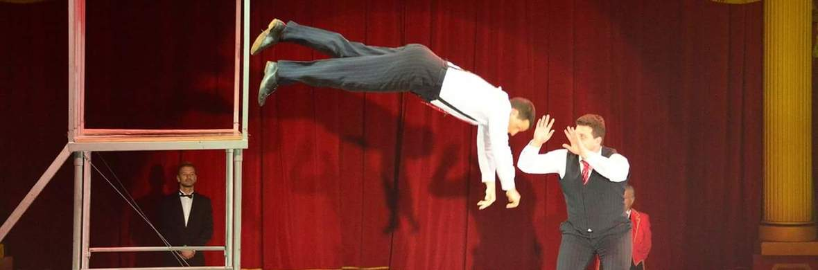 Togni's Brother Trampoline Comedy Duo - Circus Acts - CircusTalk