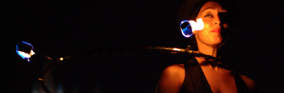 Fire Juggling duo by Zoja and Lenni - Circus Shows - CircusTalk