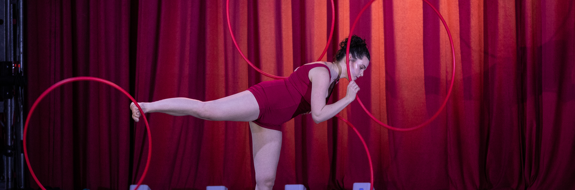 Hoop Rolling - Circus Acts - CircusTalk