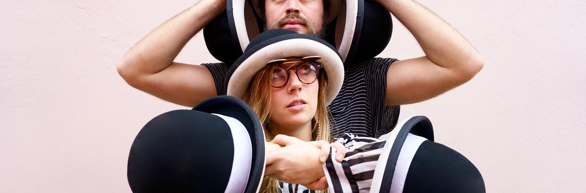 Duo Hat Juggling - Circus Acts - CircusTalk