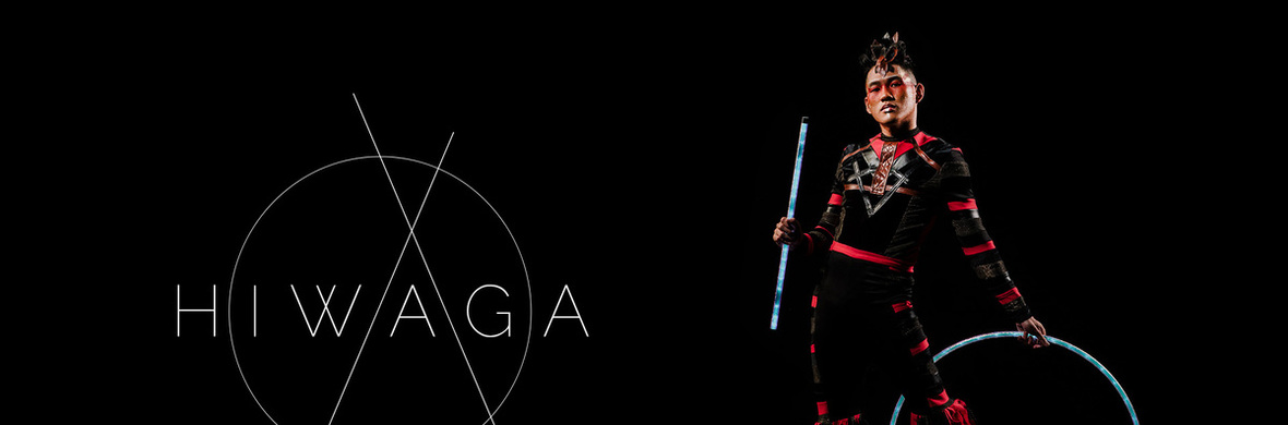 Acrobatic Magic Stick Dance with Hula Hoop - Circus Acts - CircusTalk