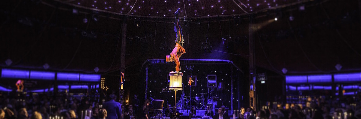 COMEDY HANDSTAND ACT & COMEDY AERIAL ACT - Circus Acts - CircusTalk