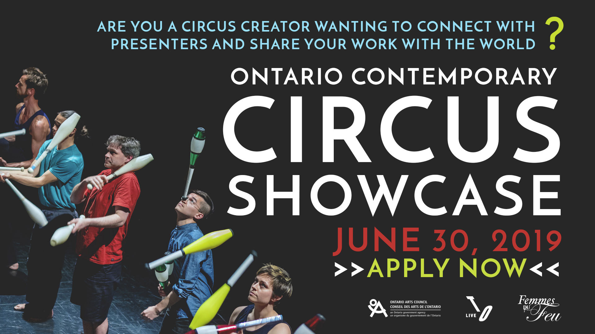 Ontario Contemporary Circus Showcase - Circus Events - CircusTalk