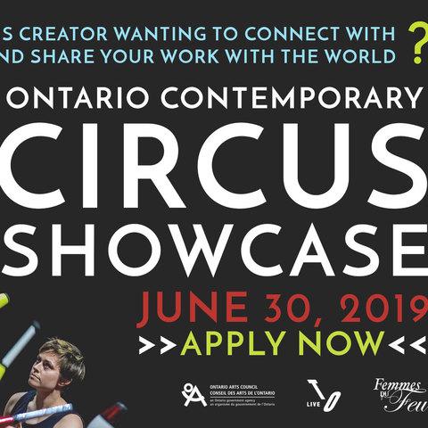 Ontario Contemporary Circus Showcase - Festival - Canada - CircusTalk