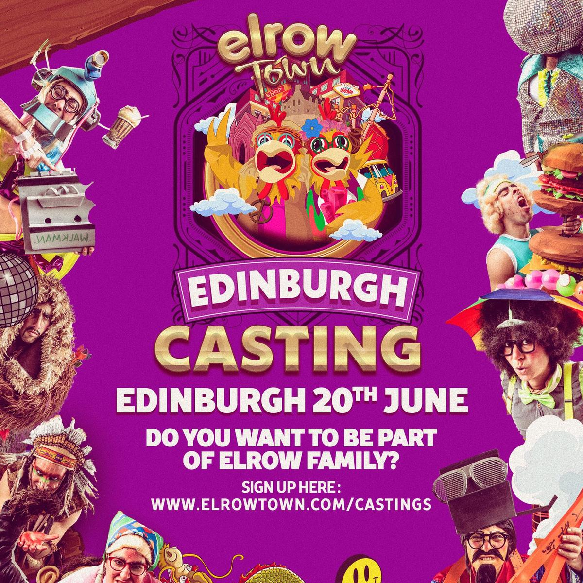 Elrow Town Edinburgh - Circus Events - CircusTalk
