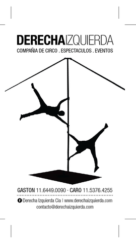 Derecha Izquierda - Company - Argentina - CircusTalk
