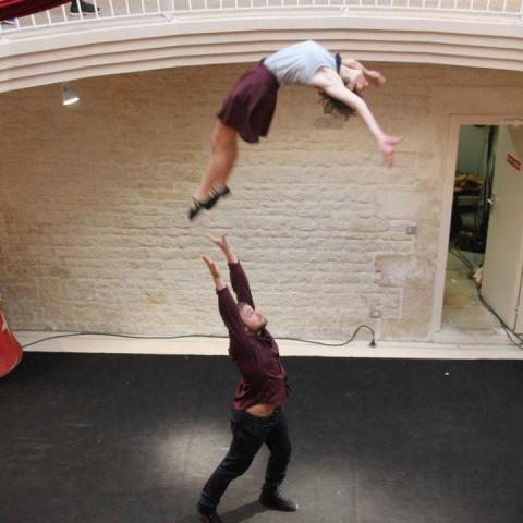 duo'ptimiste Kelly and Balthazar - Individual - Belgium, France - CircusTalk